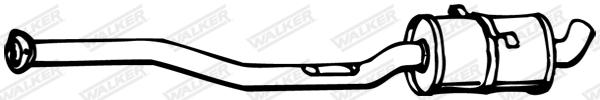 Silencieux central WALKER 08161