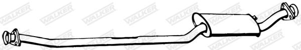 Silencieux central WALKER 12884
