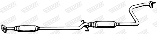 Silencieux central WALKER 13122
