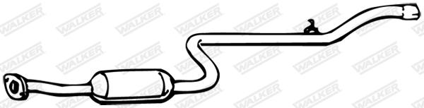Silencieux central WALKER 14169