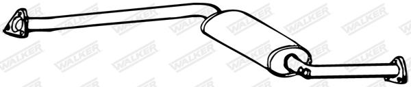Silencieux central WALKER 16863