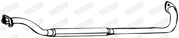 Silencieux central WALKER 21815