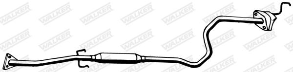 Silencieux central WALKER 22152