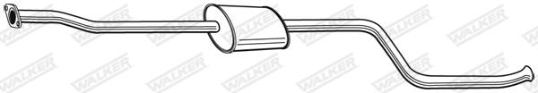 Silencieux central WALKER 22754