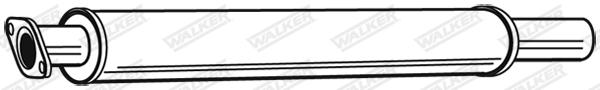 Silencieux central WALKER 22853