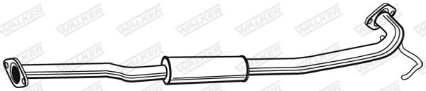 Silencieux central WALKER 22942
