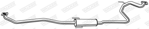 Silencieux central WALKER 23373