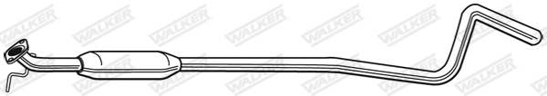 Silencieux central WALKER 24129