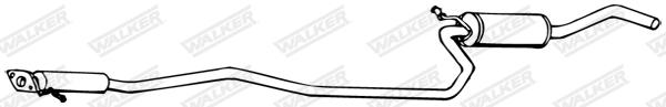 Silencieux central WALKER 70131