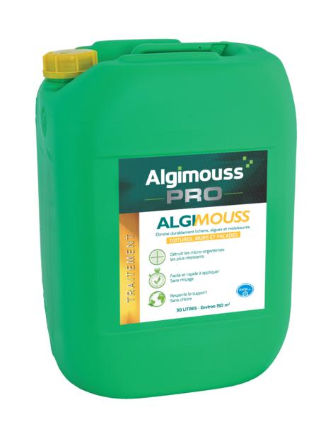 ALGIMOUSS - Anti mousse toitures, murs, façades 30L - 001004