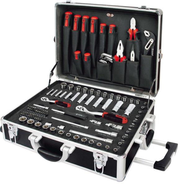 Mallette de dépannage 136 outils AMPRO T45901