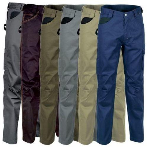 COFRA - Pantalon Drill 01 Gris / Noir T.54 -DRILL 01 54