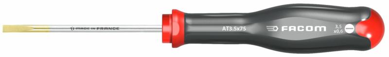FACOM - Tournevis protwist pour vis à fente - lames fraisées  AT3.5X75