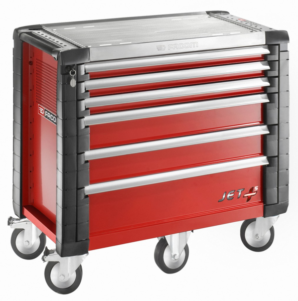 FACOM - Servantes JET+ 6 tiroirs - 5 modules par tiroir - JET.6M5