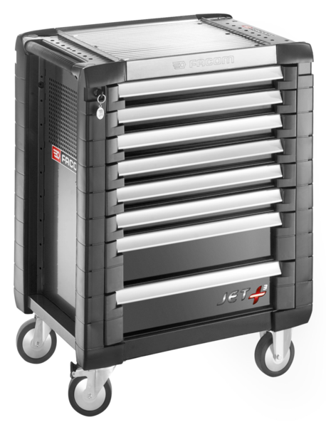 FACOM - Servantes JET+ 8 tiroirs - 3 modules par tiroir - JET.8GM3