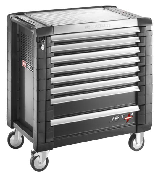 FACOM - Servantes JET+ 8 tiroirs - 4 modules par tiroir - JET.8GM4PB