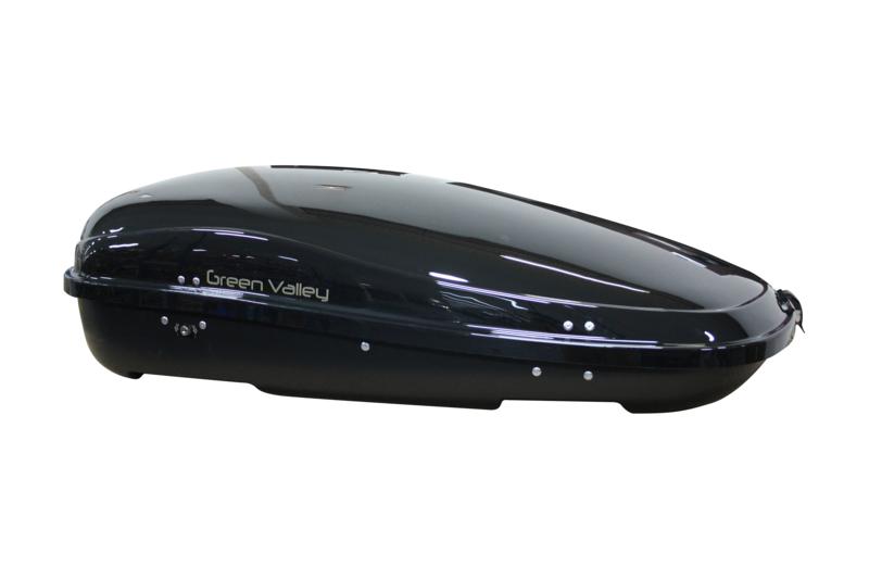Coffre de toit Green Valley Nevada 450 litres Black 158454