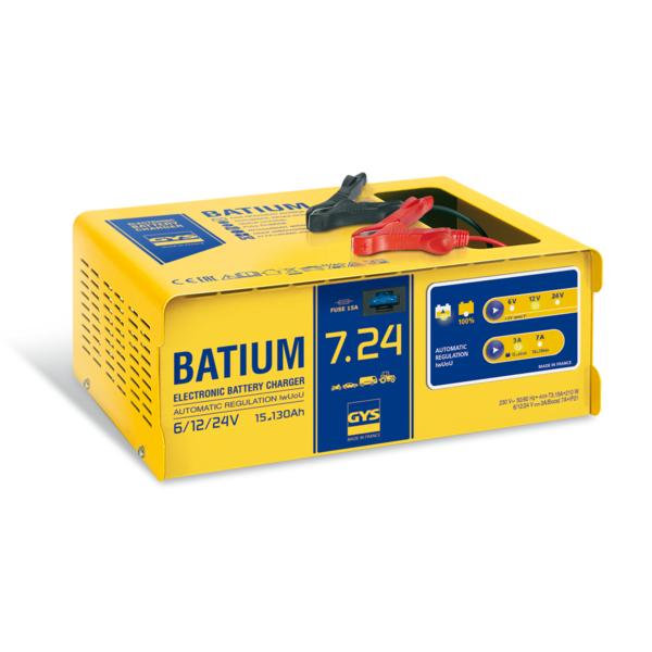 GYS - Chargeur de batterie Batium 7-24