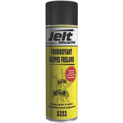 Foudroyant guepes frelons - Insecticide Neutralise à distance les nids de guêpes, frelons, taons, frelons asiatiques Jelt  005323