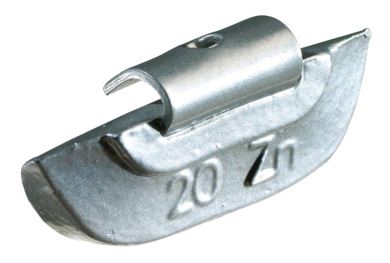 Masses d'équilibrage à crochet pour jantes ACIER 45G, boite de 50 pièces KS Tools 1001045