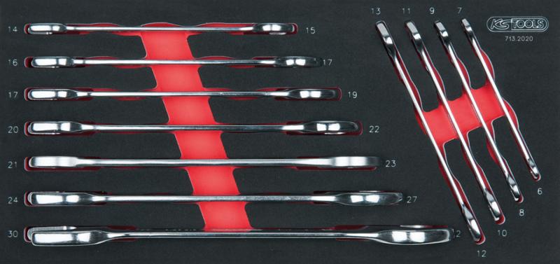 KSTOOLS - Module de clés à fourches, 11 pièces - 713.2020