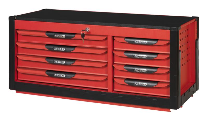 KSTOOLS - Coffre 8 tiroirs PEARLline - 809.0008