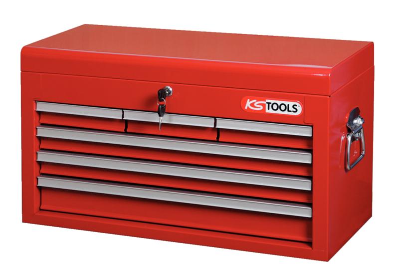 KSTOOLS - Coffre à outils vide 6 tiroirs compatibles 890,0004 et 890,0007 - 891.0006