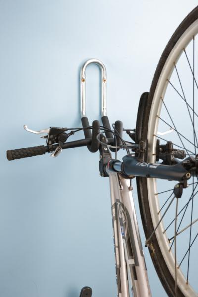 MOTTEZ - Crochet 1 vélo mural gainé - Fixation par le guidon - B046QXL