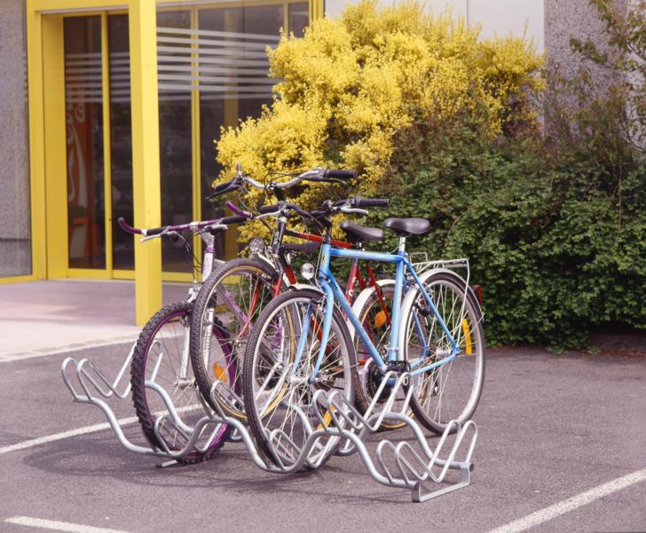 MOTTEZ - Râtelier 6 vélos sur 2 niveaux - B134V