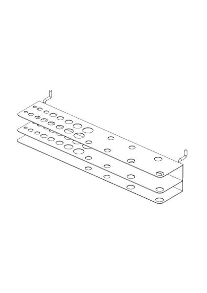 MOTTEZ - Porte foret et tournevis - Pour 23 outils - Sachet N°14 - B257S
