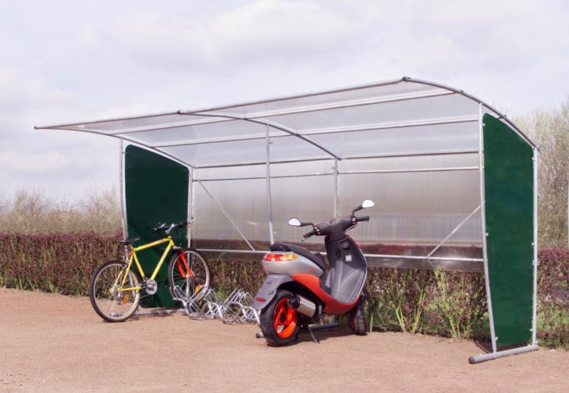MOTTEZ - Abri motos, vélos, abribus 220x210x220cm - B805V