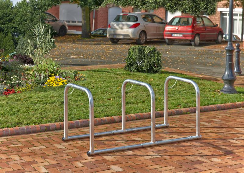 MOTTEZ - Support 10 vélos en ligne - B882C4