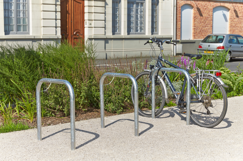 MOTTEZ - Arceau simple range vélo à sceller - B884VGA