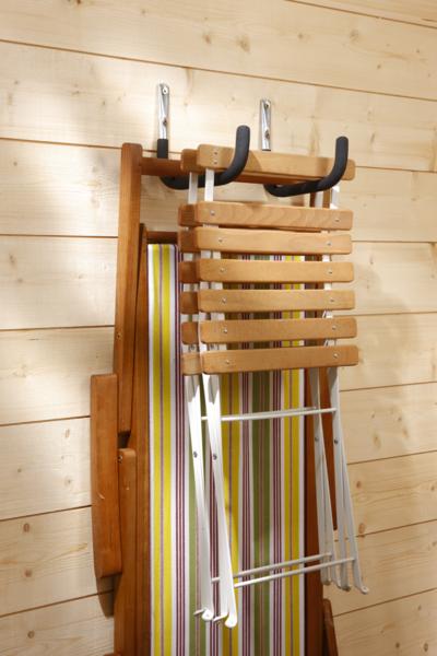 MOTTEZ - Crochet longueur 250mm gainé - Charge 50kg - F101G
