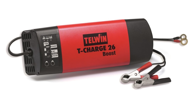 TELWIN - Chargeur de batterie T-Charge 26 Boost 230V Ref 807562