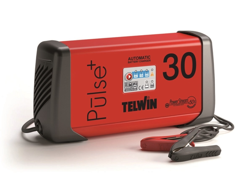 TELWIN - Chargeur, maintenance de charge 6/12/24V 230V PULSE 30