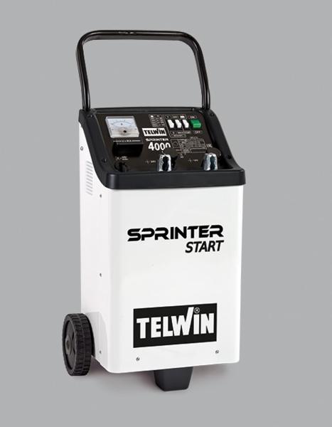 TELWIN - Chargeur démarreur sur roues 12/24V secteur 230V SPRINTER 4000 start