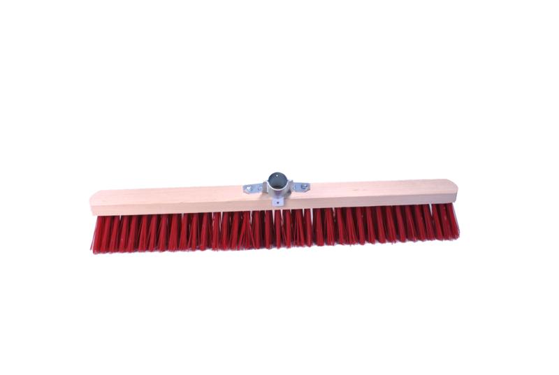 TOPCAR - Balai 60 centimètres, synthétique, bois avec douille métal diamètre 28mm - 020248