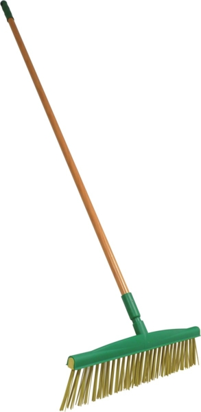 TOPCAR - Balai à feuilles manche bois vernis 1.5m D.25mm - 07328