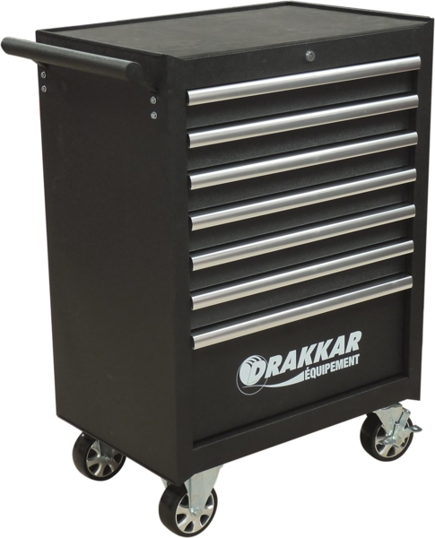 TOPCAR - Servante 7 tiroirs - 198 outils - 25054