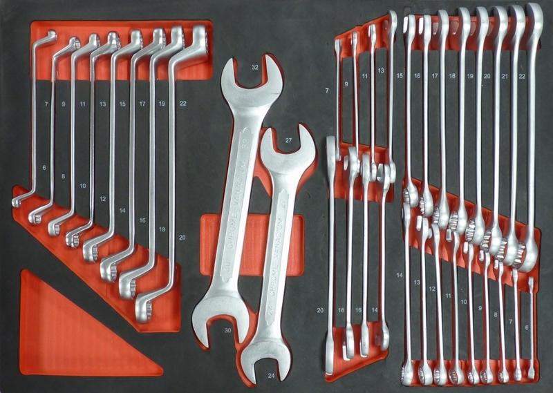 TOPCAR - Servante 7 tiroirs -  215 outils - 25041