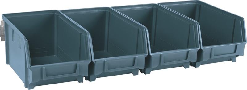 TOPCAR - Kit boites à bec bleu avec support acier - 17703