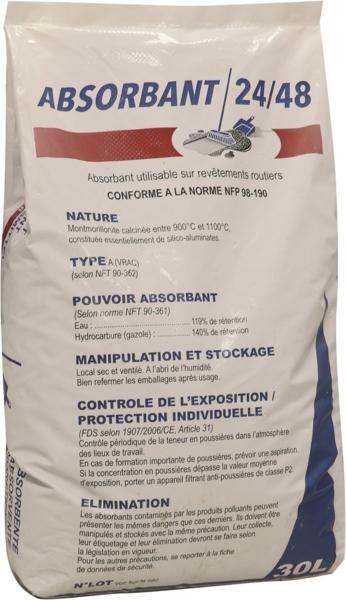 TOPCAR - Absorbant lourd minéral spécial DDE 30L - 18560