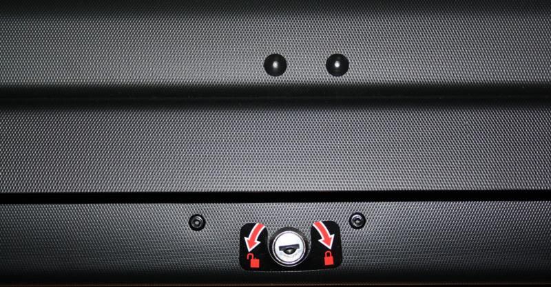 Coffre de toit TOPCAR ABER 460 -  460 litres - Charge 75kg