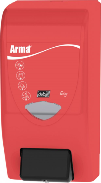 TOPCAR - Système de distribution compatible avec les cartouches rétractables de gel lavant 4 litres CRE414, PER404 ou GEL444 - DFA400