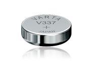 VARTA - 1 pile Oxyde d'argent (Zn/Ag2O) 8 mAh - V337