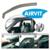 Jeu de 2 déflecteurs avant (1 droit et 1 gauche) pour Toyota Yaris 10/05- 5 portes Ref 202044