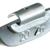 Masses d équilibrage à crochet pour jantes ACIER 25G, boite de 100 pièces KS Tools 1001025