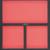 KSTOOLS - Module vide 2/3 - 3 compartiments - 712.2300