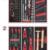 KSTOOLS - Composition d'outils 2 tiroirs pour servante, 114 pièces - 714.0114